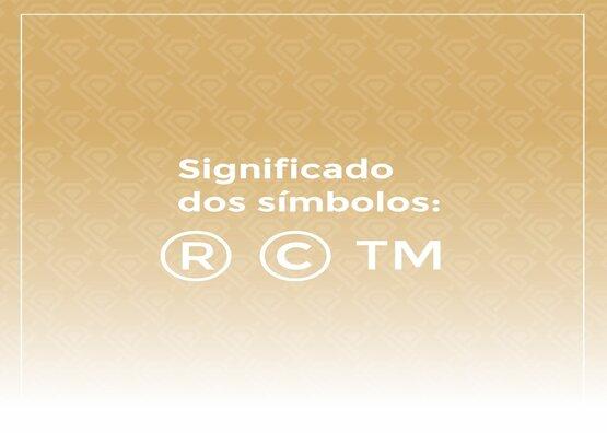 Significado dos símbolos ®©™