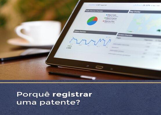 Porquê registrar uma patente?