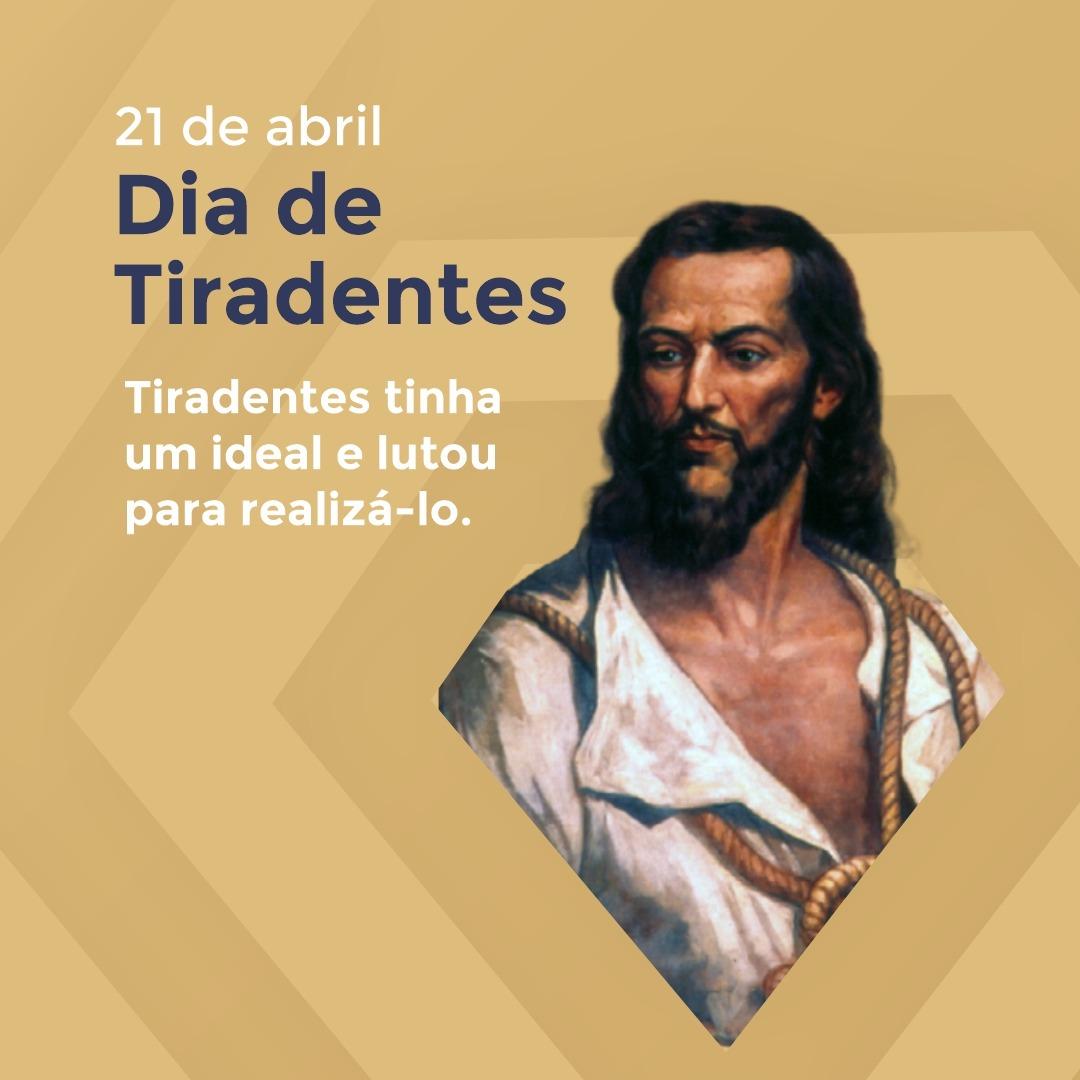 21 de abril dia de Tiradentes